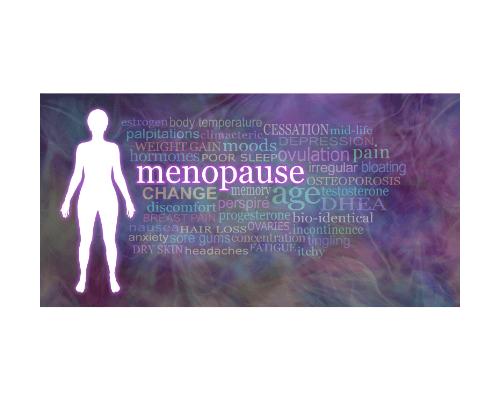 Menopause symptoms diagram Boyne Clinic